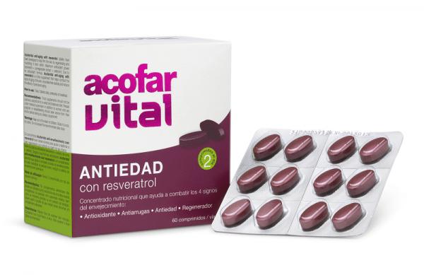 Acofar ANTI-OX con resveratrol 60 comprimidos