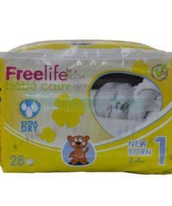 Freelife Pañal Bebé Cash 1 Recién Nacido 28 Unidades