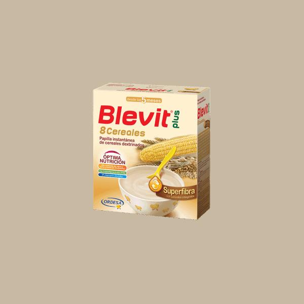 Comprar Blevit Plus Superfibra 8 Cereales 300 Gr