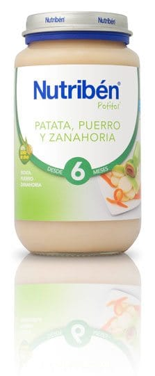 Comprar Nutriben Grandote Patata Puerro Zanahoria 250 G