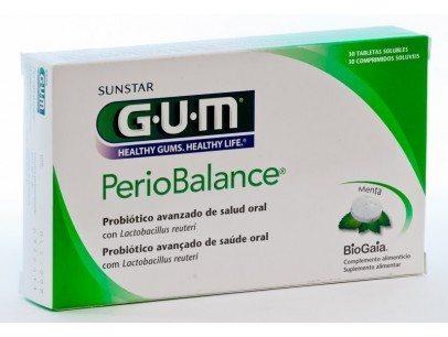 Gum 7010 Periobalance 30 Tabletas