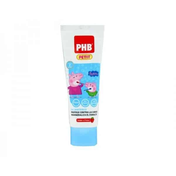 Comprar Phb Petit Gel Dentífrico Peppa Pig 50 Ml