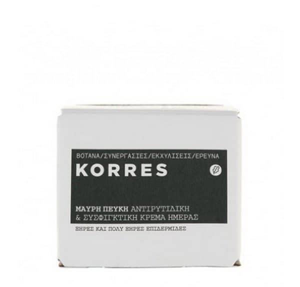 Comprar Korres Crema de Día Pino Negro 40 ml - Reafirmante y Antiarrugas Para Pieles Secas a Muy Secas