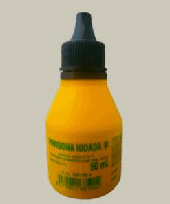 Comprar Povidona Iodada 10% 50 ml - Antiséptico Piel Sana