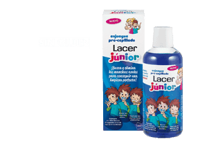 Comprar Lacer Enjuague Precepillado Junior Sabor Fresa 500 Ml