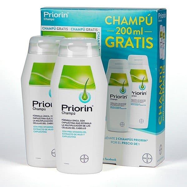 Comprar Priorin Champú Anticaida Duplo 2 x 200 ml - Contra la Caída del Cabello