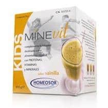 Comprar Homeosor Minevit Kids Sabor Vainilla 15 Sobres
