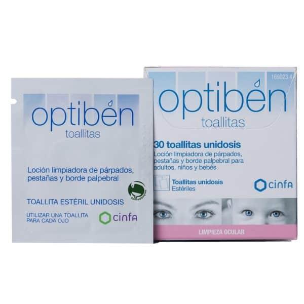 Comprar Optiben 30 Toallitas Limpiadoras