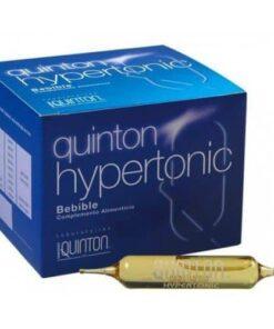 Comprar Quinton Hypertonic 24 Ampollas Bebibles - Agua de Mar para la Regeneración de Células