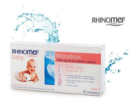Rhinomer Baby Monodosis 20 X 5 Ml - Limpieza Nasal Para Bebes