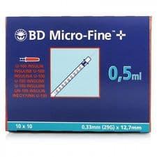 Jeringa Insulina Microfine 0