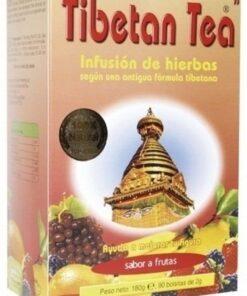 Comprar Té Tibetano Sabor a Frutas 30 Bolsitas de té 60 gr - Depuración del Organismo