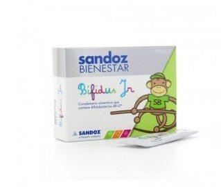 Comprar Sandoz Bienestar Bífidus Junior 10 Sobres – Equilibrio de la Flora Intestinal