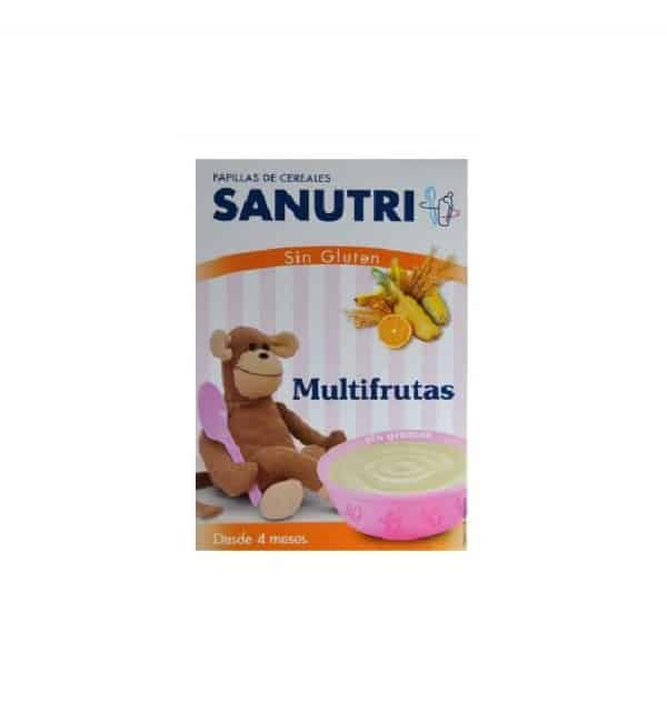 Sandoz Papilla Multifrutas Sin Gluten 300 Gr