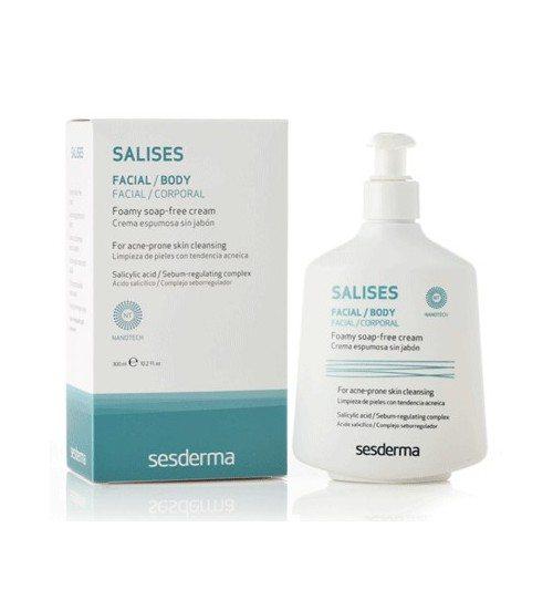 Salises Crema Espumosa Sin Jabón 300 ml