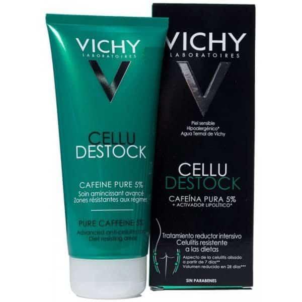 Comprar Vichy Cellu Destock Anticelulítico 200 ml es un tratamiento intensivo para la eliminación de la piel de naranja y los lípidos más rebeldes de la piel.