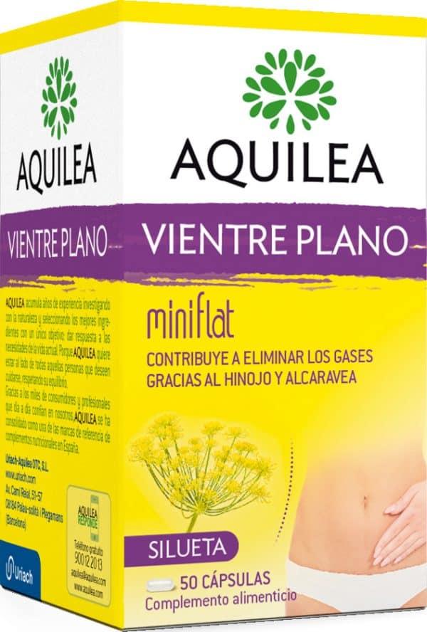 Comprar Aquilea Vientre Plano 50 cápsulas - Complemento Alimenticio Eliminación Gases