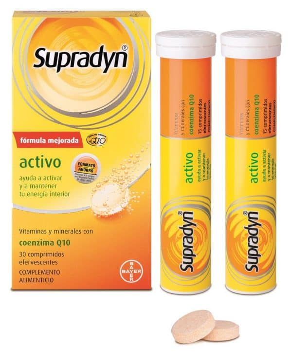Comprar Supradyn Activo Coenzima Q10 30 Comp Efervescente
