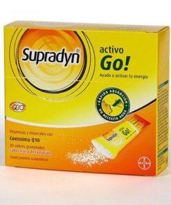 Comprar Supradyn Activo Go Granulado 20 Sobres - Activar y Mantener la Energía