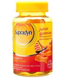 Supradyn Junior Gummies Caramelos Goma