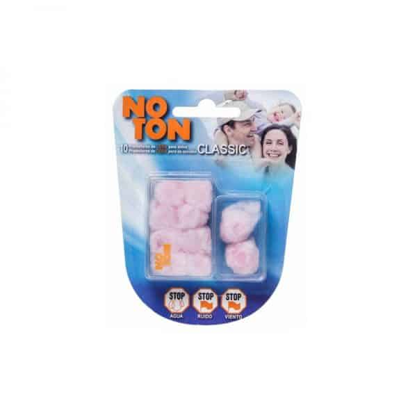 Comprar Tapones Oidos Noton Cera Algodon 10 U - Tapones de Cera y Algodón