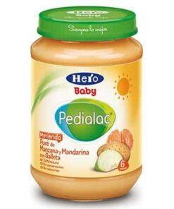 Comprar Hero Pedialac Merienda Manzana Mandarina Galleta 200 gr