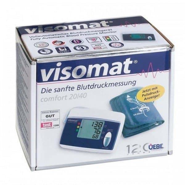 Comprar Tensiómetro de Brazo Visomat Comfort 20/40 - Medición Automática de la Tensión Arterial del Brazo