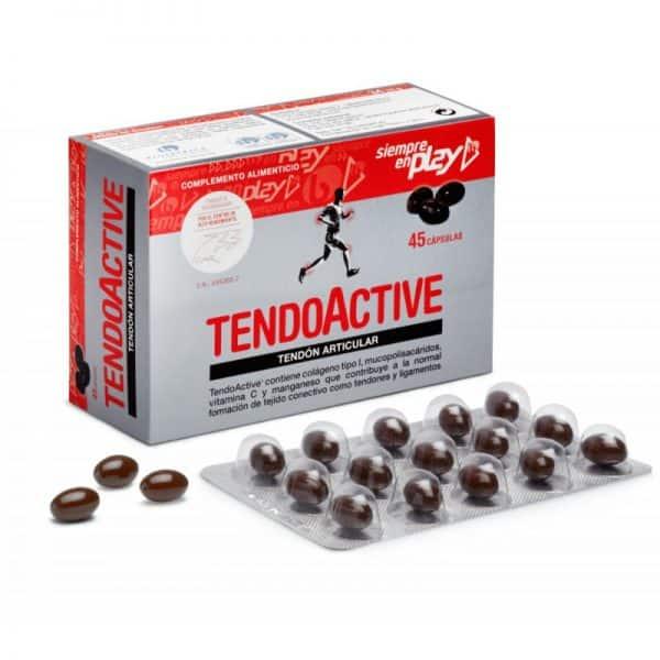 Comprar TendoActive Tendón Articular 45 Cápsulas - Complemento Alimenticio Molestias Tendinosas