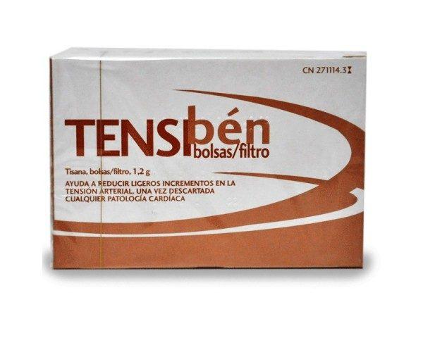 Comprar Tensibén Tisana 1.2 g 20 Filtros ayuda a reducir ligeros incrementos en la tensión arterial