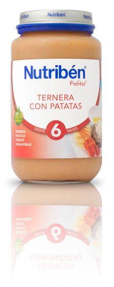 Nutribén Potito Grandote Ternera Con Patatas 250 gr