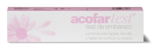 Acofar Test de Embarazo 1 unidad