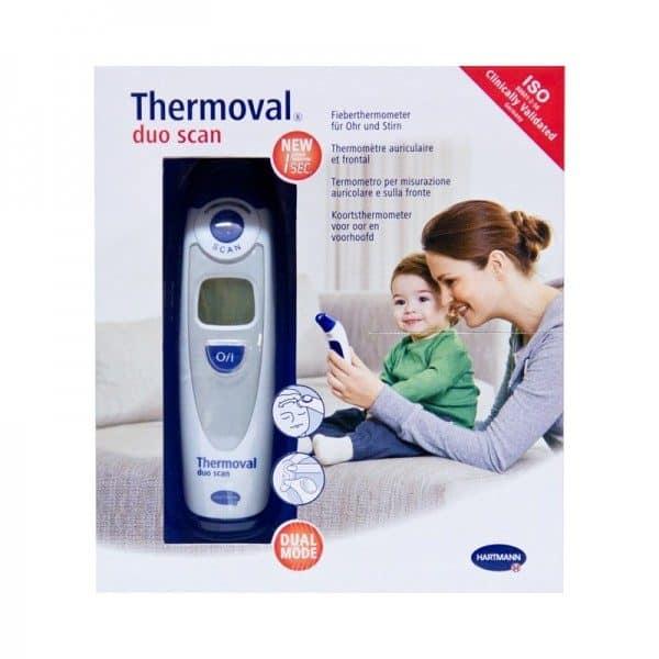 Comprar Thermoval Duo Termometro Oido Y Frente - Termómetro Doble Sistema