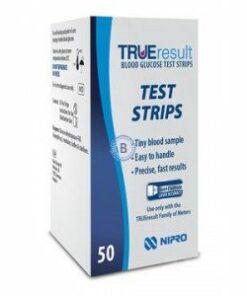 Tiras Reactivas Glucosa True Result 50 Unidades