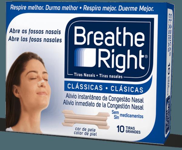 Comprar Breath Right Tiras Nasales 10 Unidades - Talla Grande