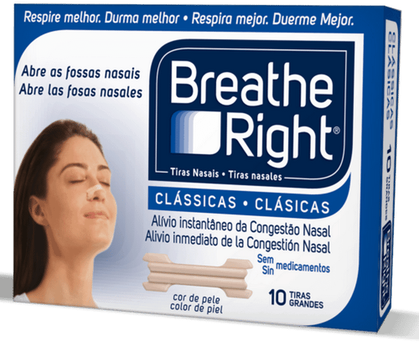 Comprar Breath Right Tiras Nasales 10 Unidades - Talla Grande