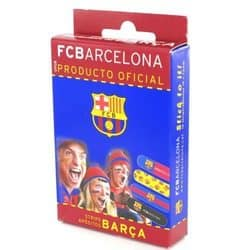 Tiritas Strips Aposito Adhesivo Barça 14 Unidades - Tiritas para niños con los colores del Barcelona