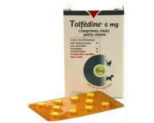 Comprar Tolfefine 6 mg 20 Comprimidos para Perros y Gatos - Antinflamatorios del Aparato Locomotor
