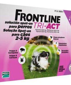 Comprar Frontline Perro Tri-Act 2-5 Kg - Antiparasitario Para Perros