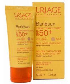 Uriage Solar SPF 50 Color Dore Crema 50 ml