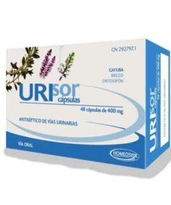 Comprar Homeosor Urisor 400 mg 48 Cápsulas