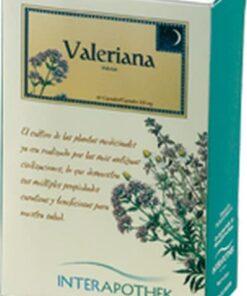 Valeriana 60 Cápsulas de 300 mg de Interapothek