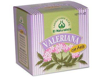 Comprar El Naturalista Valeriana con Anís 10 Bolsitas