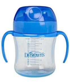 Vaso de Transición Dr Brown's de 180 ml para +6 Meses
