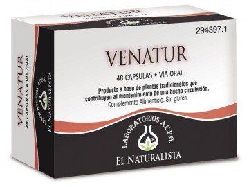 Comprar El Naturalista Venatur 48 Cáps