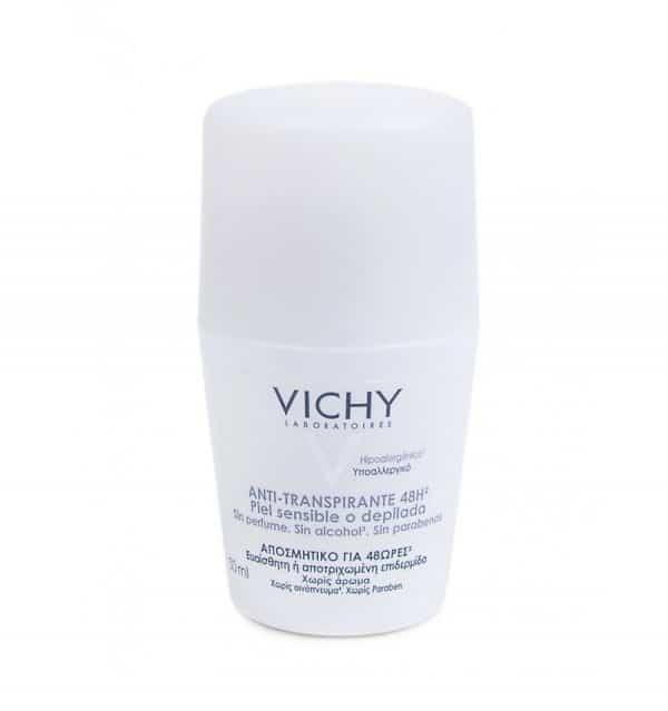 Vichy Desodorante Bola Piel Sensible Mujer