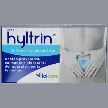 Hyltrin Óvulos Vaginales 10 Óvulos - Calma