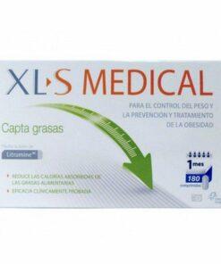 Comprar XLS Medical Captagrasas 180 Comprimidos - Ayuda Controlar el Apetito y Reducir los Niveles de Colesterol y Calorías