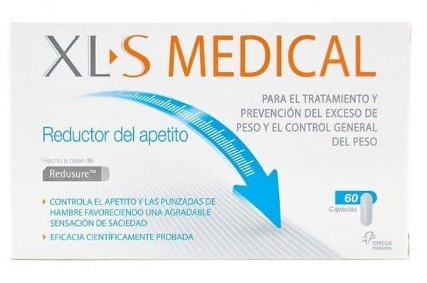 Comprar XLS Medical Reductor de Apetito 60comp.