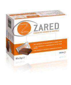 Zared Chocolate Vitaminas y Minerales 60 Barritas
