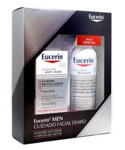 Eucerin Men Espuma+ Crema Antiedad